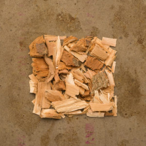 Poplar bark cut