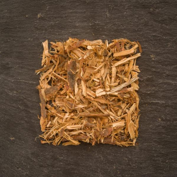 Juniper wood cut