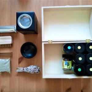 Incense Starter Set box open