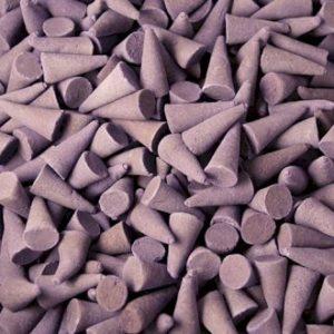 Lavender incense cone