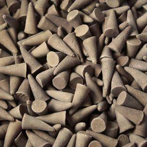 Patschulli incense cones