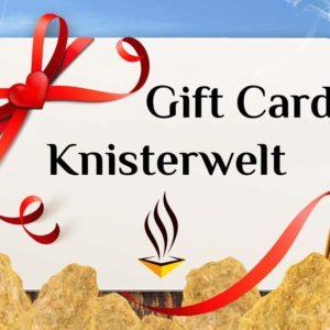 Gift Card Knisterwelt