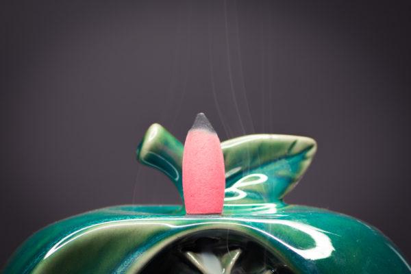 Incense Burner Waterfall Apple Incense Cone