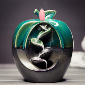 Incense Burner Waterfall Apple smoke preview