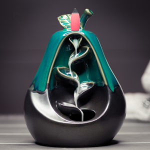 Incense Burner Waterfall Pear smoke preview